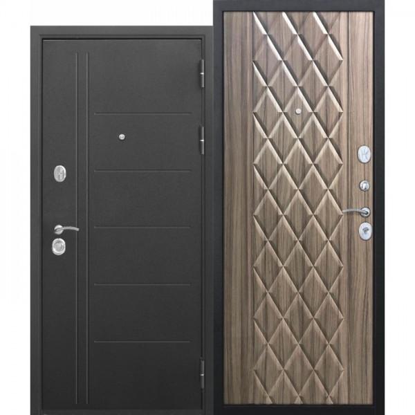 Искали, где купить Входная дверь 10 см Троя Муар Палисандр темный?