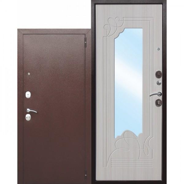 Искали, где купить Входная дверь с зеркалом Ампир Белый ясень?
