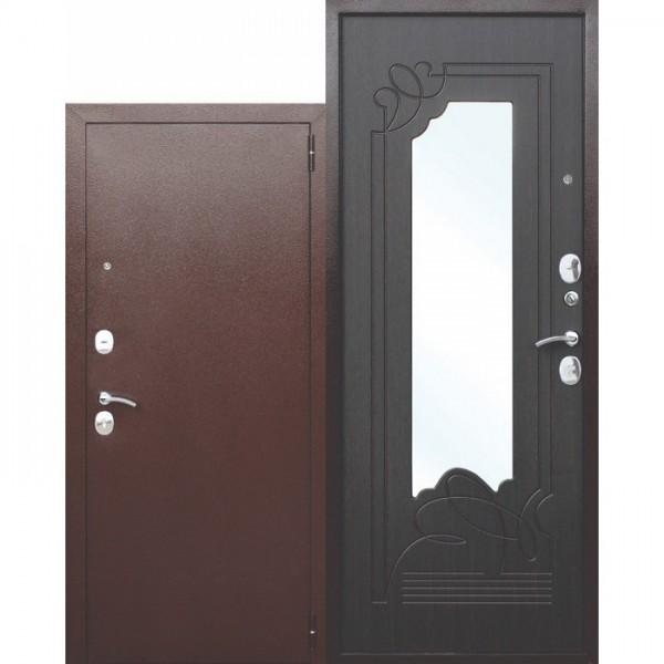 Искали, где купить Входная металлическая дверь с зеркалом Ампир Венге?