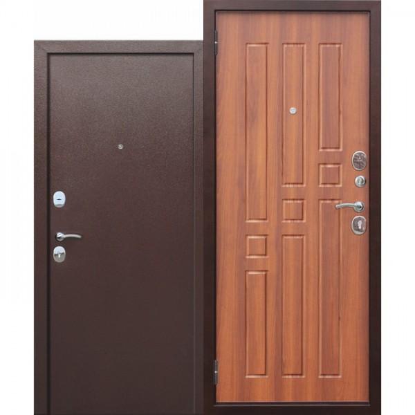 Искали, где купить Входная дверь Гарда ВО 2 замка Рустикальный дуб. Внутреннее открывание?